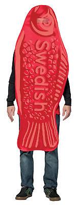 Schwedische Fisch Tunika Erwachsene Kostüm Poly Schaum Halloween Rasta Imposta ()