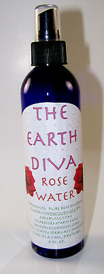 The Earth Diva Rose Water Natural Perfume and Skin Toner from Bulgarian Roses