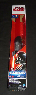 Disney Star Wars Darth Vader Sith Red Lightsaber BladeBuilders Light up Toy