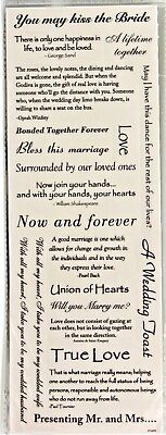 Wedding Phrases You May Kiss The Bride Now   Forever Momenta Clear Stickers
