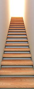 Papier peint l unique tapisserie murale d co mont e d for Tapisserie montee escalier