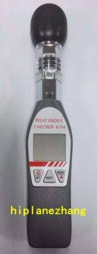 Handheld Temperature Humidity Globe WBGT Meter Tester 8758