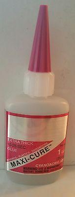 Dental Lab Quick Adhesive Strong Bond Super Glue Extra Thick 1 Oz - Usa