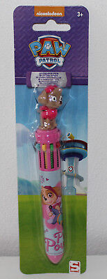 Paw Patrol 10 Farben Kugelschreiber  10-in-1 Color Pen NEU (für Mädchen)