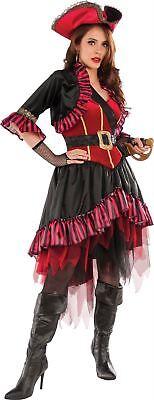 Damen Seeräuber Kapitän Piraten Karibik Erwachsene Damen Halloween Kostüm