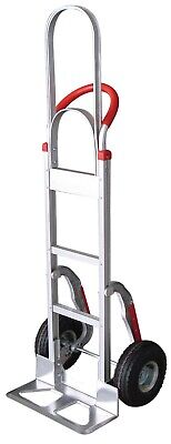 Tyke Supply Commercial Aluminum Hand Truck Tall Handle Stairclimber Air Tire Hs3