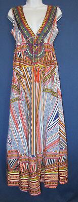 Designer OSHOPLIVE Women's M Bohemian Gypsy Medieval Fashion Long Dress New Tags