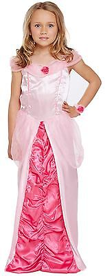 Sleeping Beauty Childs Princess Dressing Up Fancy Dress Outfit World Book Day