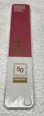 Pantone Pastels Neons Coated Uncoated Plus Series Book