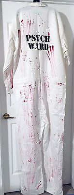 Psych Ward Costume (Psych Ward Jumpsuit with Blood Deluxe Quality Size XXL/Collision)