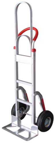 Tyke Supply Aluminum Stair Climber Hand Truck W/ Tall Handle HS-3 Solid Tires