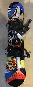 Jr snowboard Firefly Delimit 2017/2018 with bindings