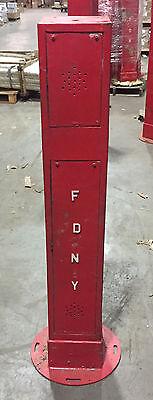 FDNY CALL BOX PEDESTAL
