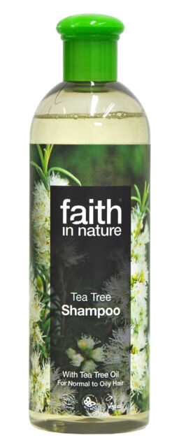 Faith In Nature Tea Tree Shampoo For Normal To Oily Hair 400ml