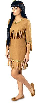 Kostüm Indianerin Damen Wilder Westen Indianerkostüm Gr.S-L Karneval - Wilder Westen Damen Kostüm