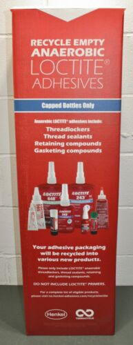 Henkel Loctite Medium Recycling Box 2076398, Anaerobic Adhesives Capped Bottles
