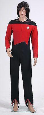 Star Trek Jumpsuit Uniform Plus Size Halloween Costumes Cosplay Custom Made (Plus Size Star Trek Costumes)