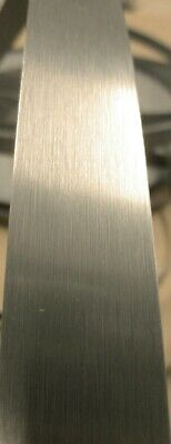 Stainless Steel 1mm Pvc Edgebanding 1516 X 120 With Adhesive On Pvc Backing