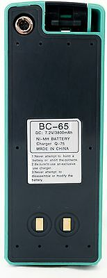Bc-65 Battery For Trimble M3 Nikon Dtm Npl Npr Q75e Total Station. Surveying