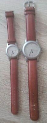2 Uhren Damen und Herren Uhr