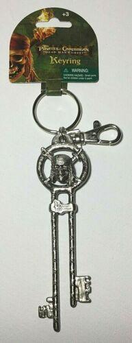 New Pirates of the Caribbean Davy Jones Chest Replica Key Keychain