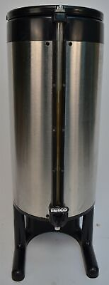Fetco Luxus 1.5 Gallon Stainless Thermal Coffee Beverage Dispenser Urn