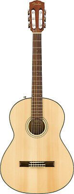 Fender 0970160521 CN-60S Classic Design CN Classical Acoustic Guitar, Natural