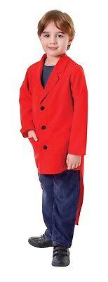 Kind Jungen Ring Master Frack Rot Kostüm Zirkus - Ringmaster Kostüm Kind