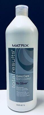 Matrix Total Results Color Care So Silver Shampoo - 33.8 fl