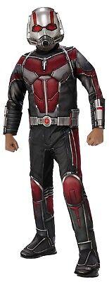 Rubies Deluxe Ant-Man und die Wespe Antman Kinder Halloween Kostüm 641063