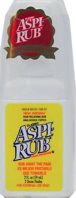 Aspi-Rub Classic Pain Reliever Spray Bottle 2 oz (Pack of 2)