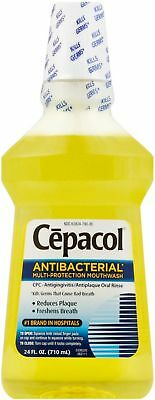 Cepacol Antibacterial Multi-Protection Mouthwash 24 oz (Pack of 2)
