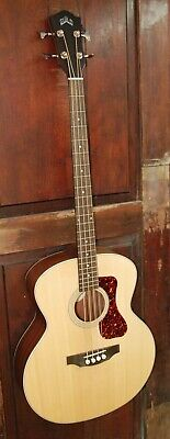 Guild B-240E Steel String Acoustic-Electric Solid Spruce Top Mahogany Jumbo Bass