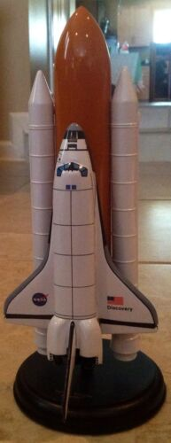 Nib Discovery Full Stack Space Shuttle Desk Top Display Aircraft Model