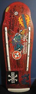 Vintage Powell Peralta Tony Hawk Bird Claw Skateboard Deck Please Read