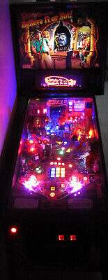 RIPLEY'S BELIEVE it OR NOT Pinball LED Lighting Kit custom SUPER BRIGHT KIT