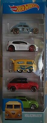 "Hot Wheels Set - ""Volkswagen"" - 5 Car Set - New"