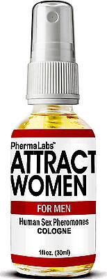 The Secret To Attract Beautiful Women   Pheromones Cologne 1Oz Phermalabs  0025