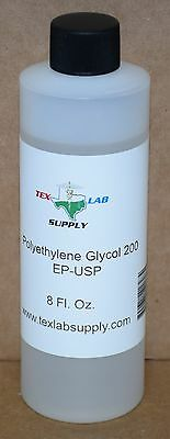 Tex Lab Supply Polyethylene Glycol 200 Peg 200 Nffccepusp 8.45 Fl. Oz.