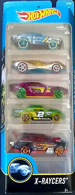 X-Racers Hot Wheels 5 Pack Mattel