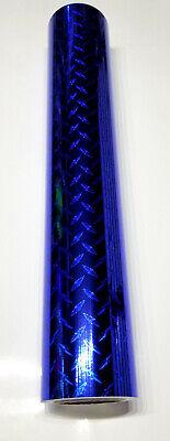 Royal Blue Diamond Plate Sign Plotter Cutter Vinyl Roll