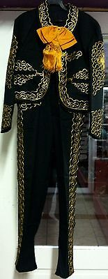 Men's Mariachi Charro Suit Set Mexico Folklorico 5 De Mayo Fiesta Dance Costume](Mayonnaise Costume)