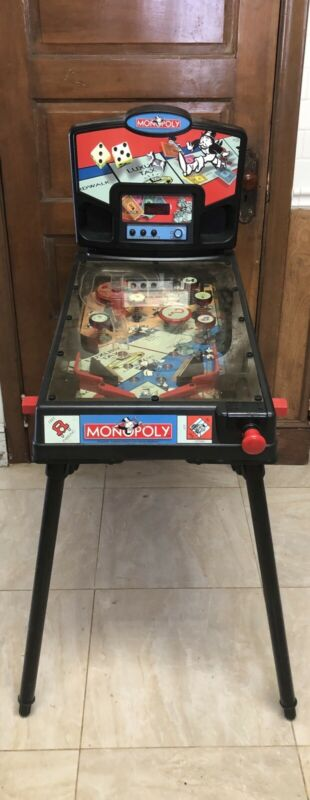 Monopoly Electric Pinball By Funshine  With Electric Charger ,WORKS PERFECT
