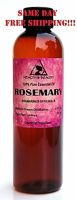 ROSEMARY ESSENTIAL OIL AROMATHERAPY NATURAL 100% PURE 4 OZ