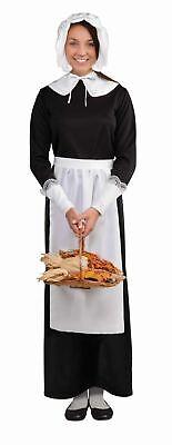 Pilgrim Damen Satz Schürze Puritanisches Kolonial Kit Adult Thanksgiving (Thanksgiving Kostüme)
