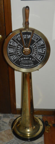 Engine Room Order Telegraph J.W. Ray & Co.  Liverpool