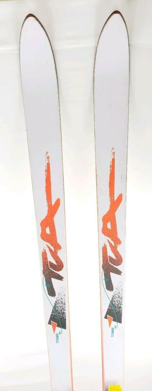 TUA Wilderness IDE Backcountry Telemark Skis 195 cm w/ Asolo 3 Pin Bindings