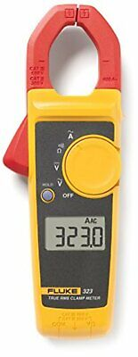 Clamp Meter Fluke 323 True Rms 600v Ac Dc Measures Ac Current 400 Amp Tool Fs