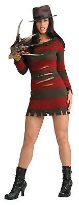 Freddy Krueger Female Costume Adult Sexy Womens Nightmare Elm Street Rubies - Freddy Krueger Female Costume