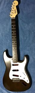 Fender guitar body and neck